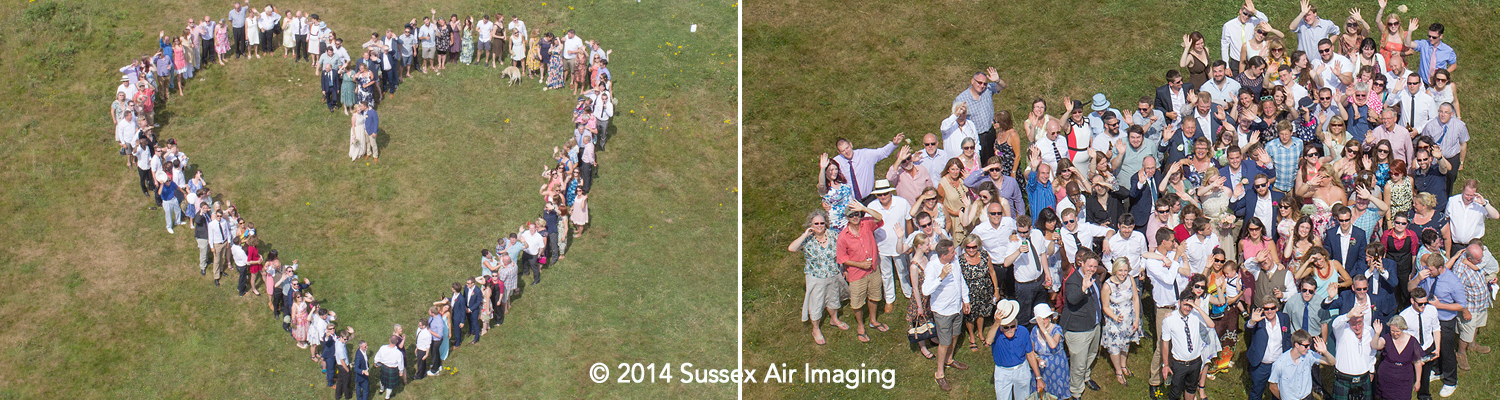 Sussex Wedding Drone